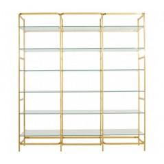 Horizon Bookshelf Tier Gold