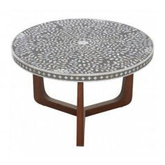 Fusion Coffee Table Round Black