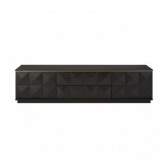 Diamond TV Unit Black