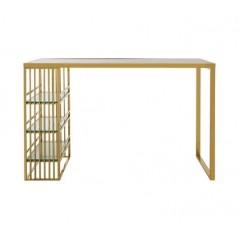 Piermount Bar Table Gold