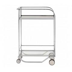Piermount Kitchen Trolley Wide Silver