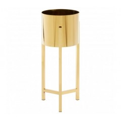Piermount Plant Stand Large Gold