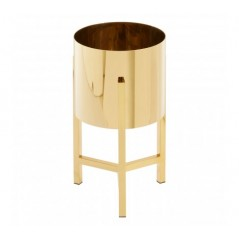 Piermount Plant Stand Small Gold