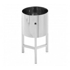 Piermount Plant Stand Small Silver