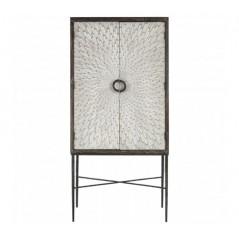 Milan Bar Cabinet Grey