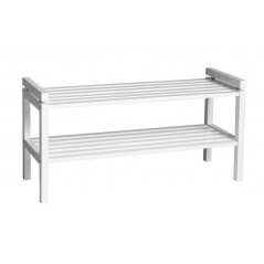 RO Confe Shoe Rack Short White