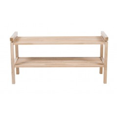 RO Confe Shoe Rack Short White Pigmented