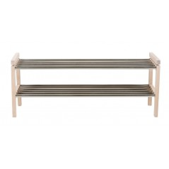 RO Confe Shoe Rack Long White Pigmented