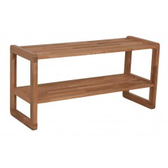 RO Met Shoe Rack Oak