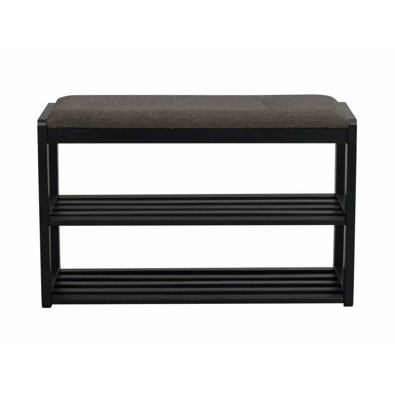 RO Met Shoe Rack Bench Black