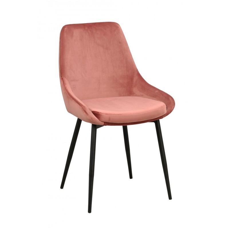 RO Sier Dining Chair Pink Velvet