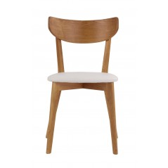 RO Am Dining Chair Oak/White