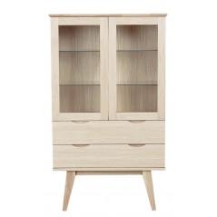 RO Filip Display Cabinet White Pigmented