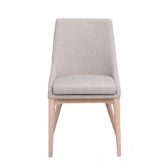 RO Be Dining Chair Light Grey/White Pigmented