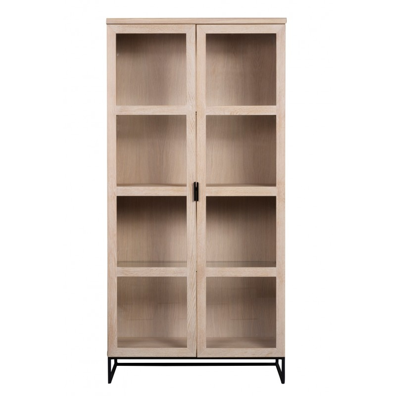 RO Evere Display Cabinet White Pigmented