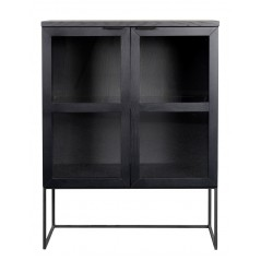 RO Evere Cabinet Glass Large Black