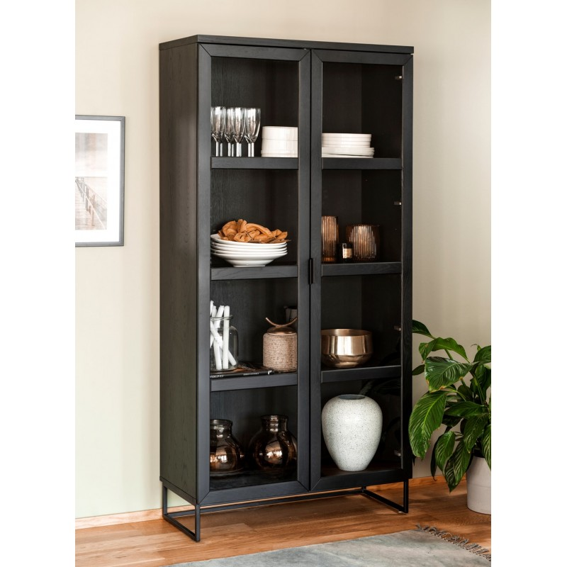 RO Evere Display Cabinet Black