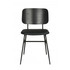 RO Bur Dining Chair Black