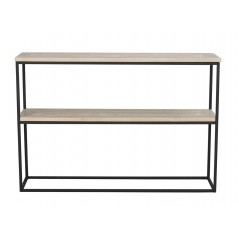 RO Gord Console Table White Pigmented