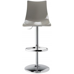 SC Italy Zebra Up Stool Dove Grey