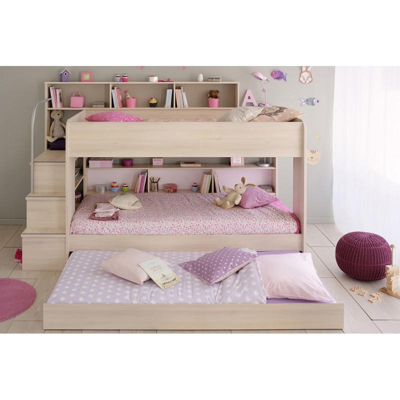 Bibop Bunk Beds Light Acacia