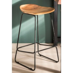 Zi Renza Industrial Bar Stool
