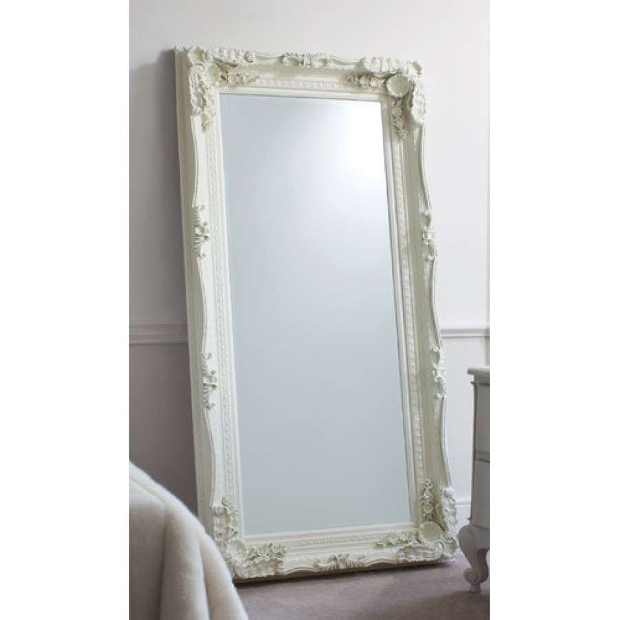 G carved louis leaner mirror for Leaner mirror