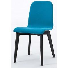 NAT Hello Italy Wood Graphite Leg Turquoise