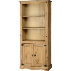Corona 2 Door Display Bookcase