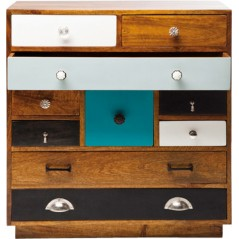 Dresser Closed 10 Drawer K Delux Version