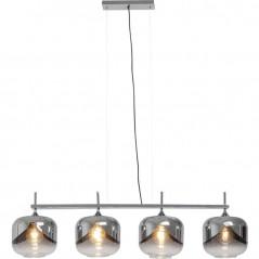 Hanging Lamp Chrome Goblet Quattro Ø25cm