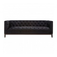 Sasha 3 Seat Sofa Black