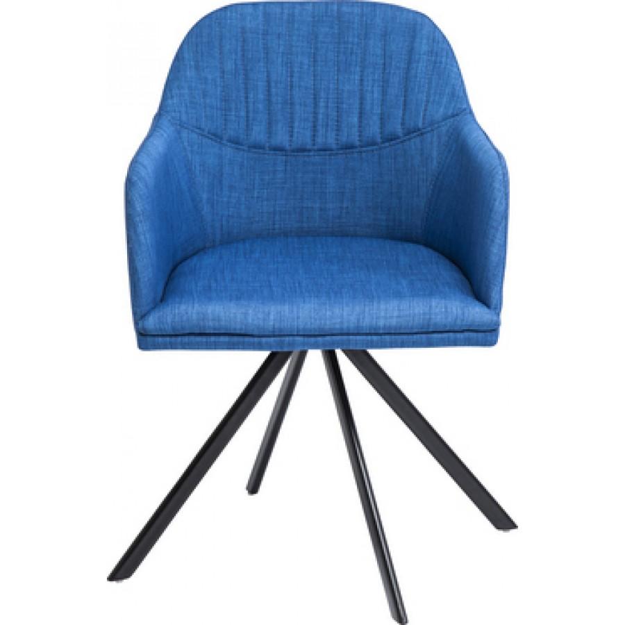 Palm Springs Blue Arm Chair