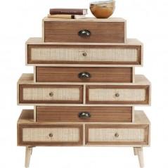 Dresser Samos Steps 8 Drw 80cm