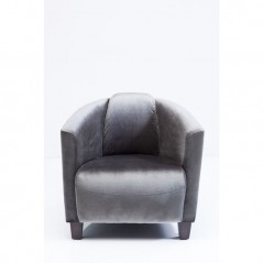 Arm Chair Cigar Lounge Grey