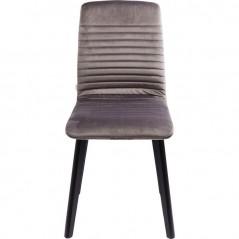 Chair Lara Velvet Silver