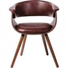 Chair with Armrest Nougat