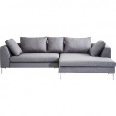 Corner Sofa Gianni Grey Right
