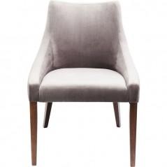 Chair Mode Velvet Grey