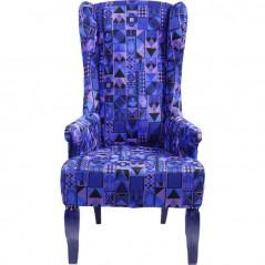 Wing Chair Gaga Blue