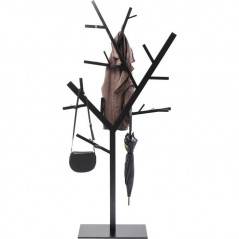 Coat Rack Technical Tree Black
