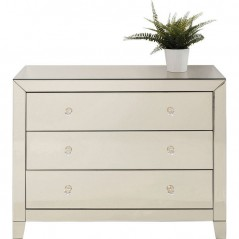 Dresser Luxury Champagne 3 Drawers
