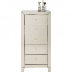 Cabinet Luxury Champagne 5 Drawers