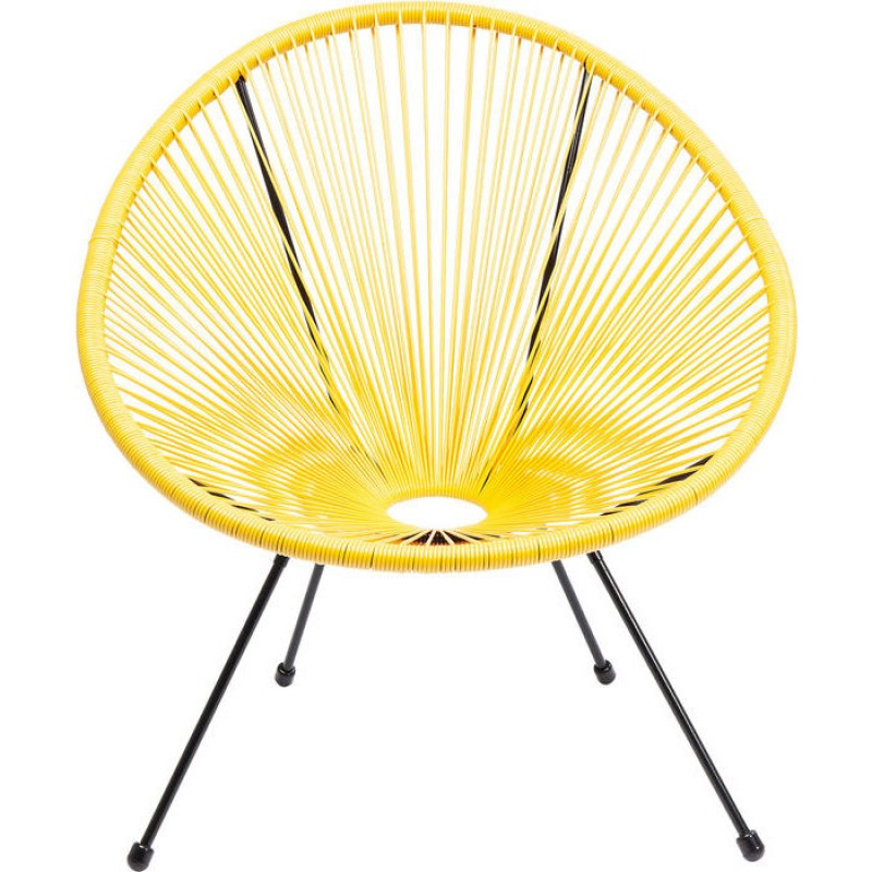 Arm Chair Acapulco Yellow