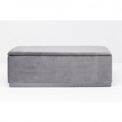 Bench Cherry Storage Grey 120cm