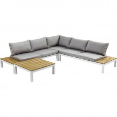 Outdoor Sofa Set Holiday White (4-Pieces)
