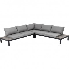 Outdoor Sofa Set Holiday Black (4-Pieces)