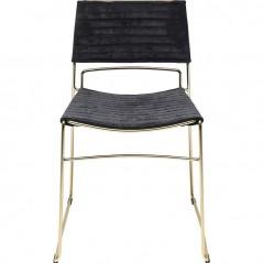 Chair Hugo Black Gold