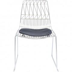 Chair Solo Black Chrome