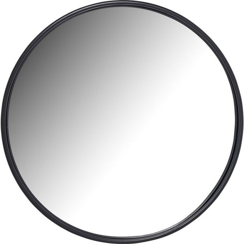 Mirror Celebration Matt Black Ø80cm